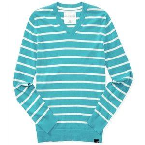 3/$25 Aeropostale Striped Pullover V-Neck Sweater
